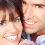Cerec-Inlays und Cerec-Teilkronen; weiße Zähne in einer einzigen Sitzung