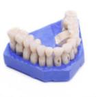 Material von künstlichen Zahnreihen